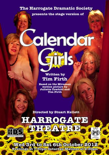 Calendar Girls, 2012