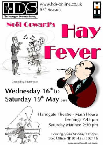 Hay Fever, 2001