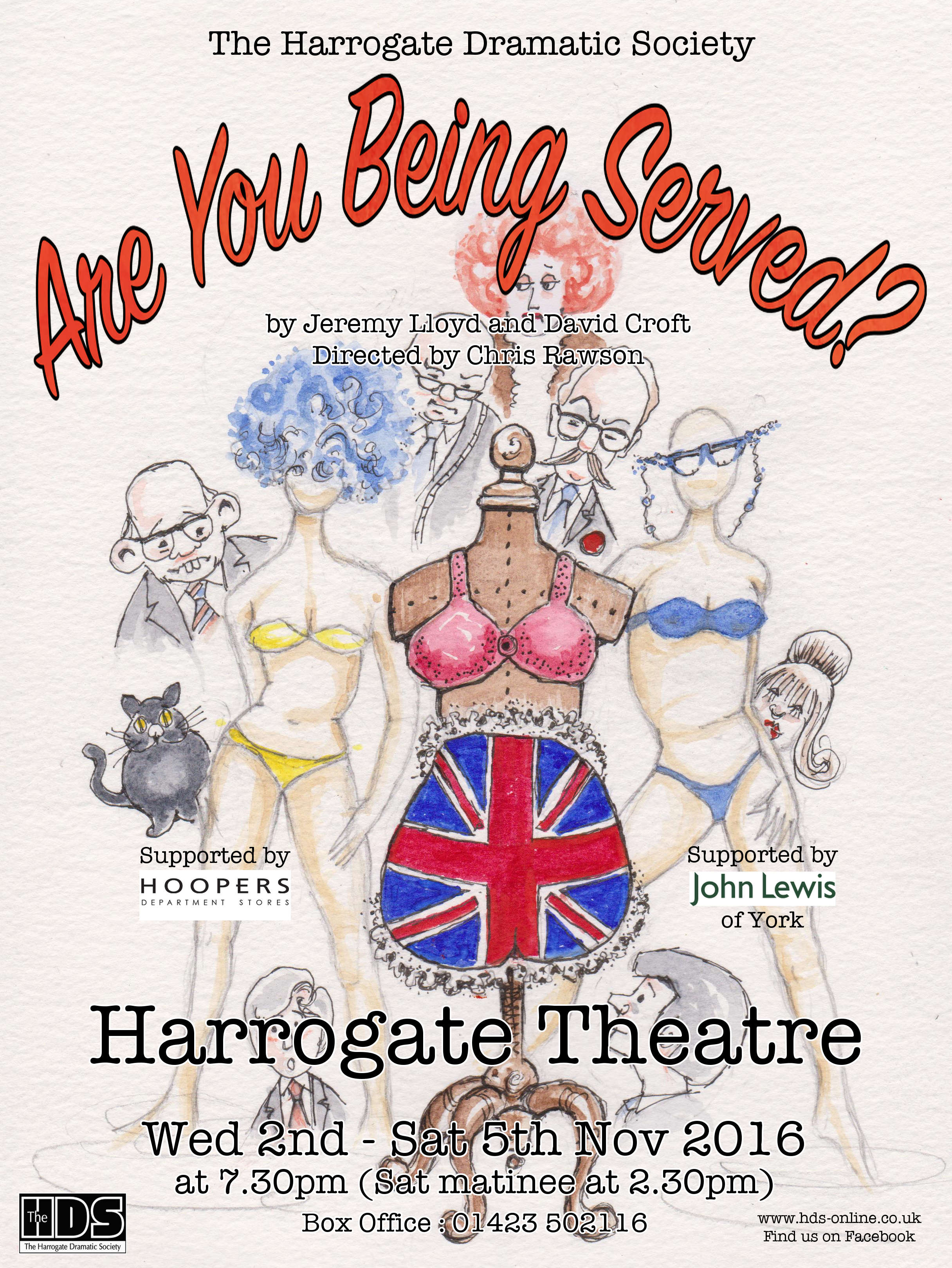 Are You Being Served? 2016