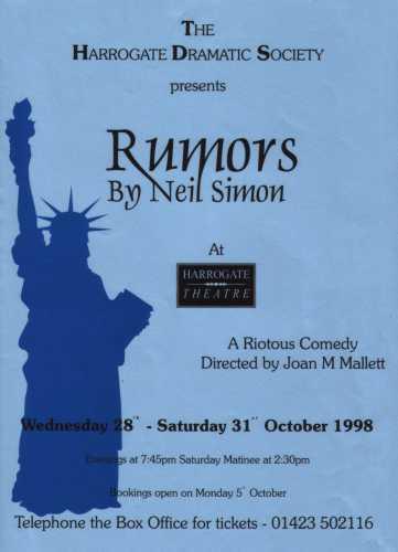 Rumors, 1998