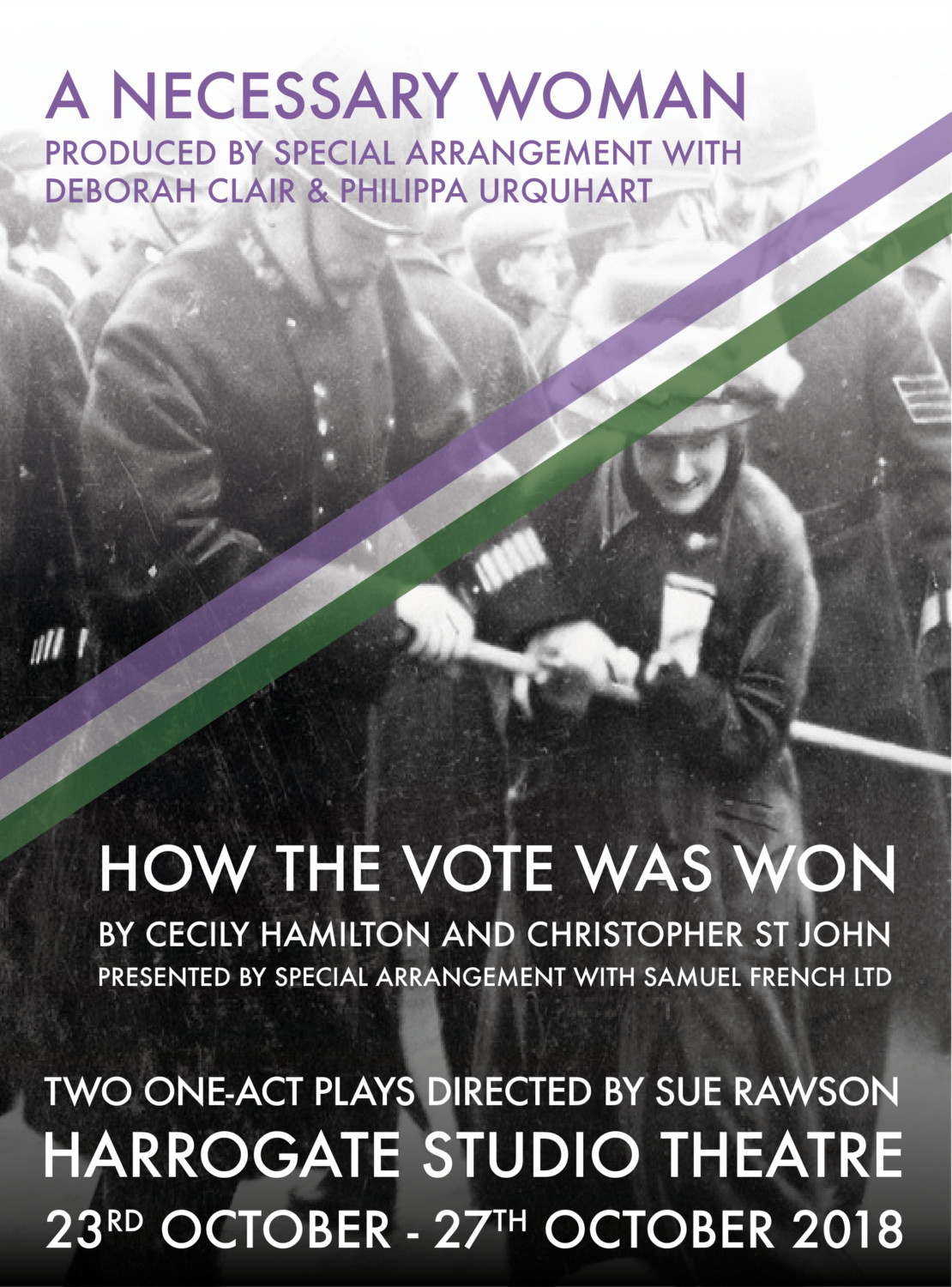 A Necessary Woman & How The Vote Was Won poster
